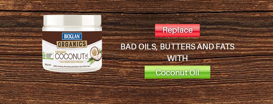 Bioglan Coconut oil banner